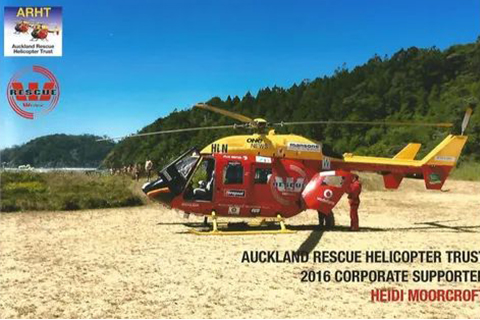 rescue helicopter supporter